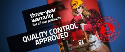 3 years warranty for all COMET products