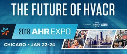 Come VISIT our booth at AHR EXPO in Chicago